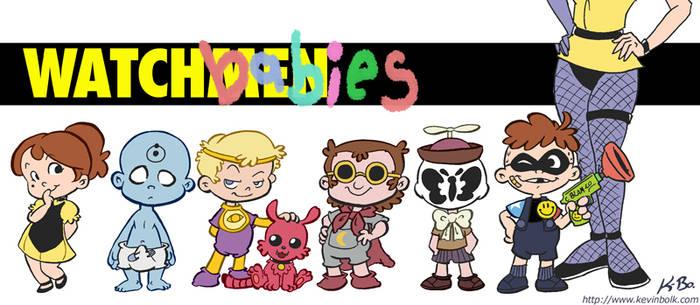 Watchmen Babies by kevinbolk