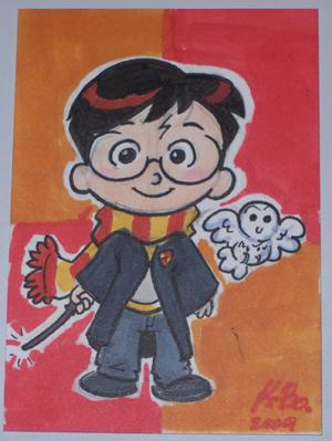 Harry Potter Art Card by kevinbolk