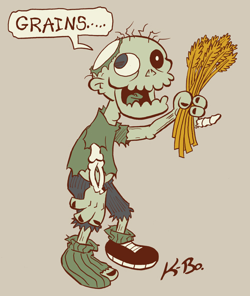 Vegetarian Zombie Design By Kevinbolk On Deviantart