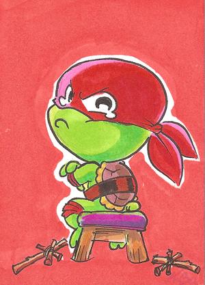 обои ninja turtles