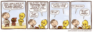 Star Wars Funnies: C-3PO