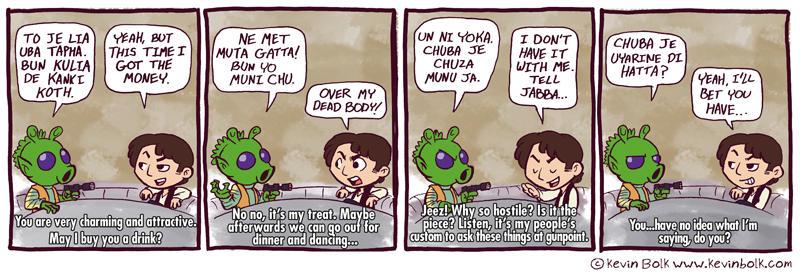 Star Wars Funnies: Han Solo