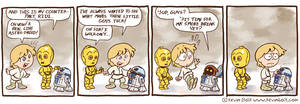 Star Wars Funnies: R2D2