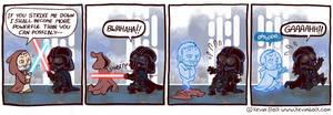 Star Wars Funnies: Obi-Wan by kevinbolk