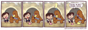 Star Wars Funnies: Chewbacca