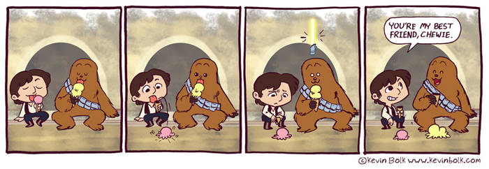 Star Wars Funnies: Chewbacca