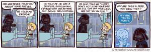 Star Wars Funnies: Darth Vader