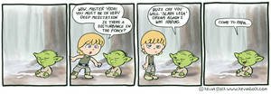Star Wars Funnies: Yoda