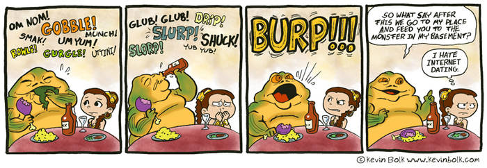 Star Wars Funnies: Jabba