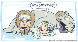 Star Wars Funnies: Snow