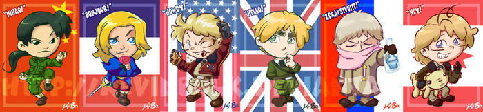 Hetalia: Allies Card Set