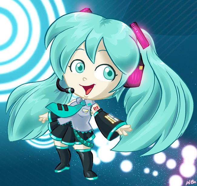 Vocaloid Hatsune Miku by kevinbolk