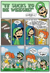 Sucks to be Luigi: Jogging