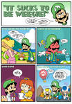 Sucks to be Luigi: Titles