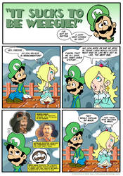 Sucks to be Luigi: Past Lives by kevinbolk