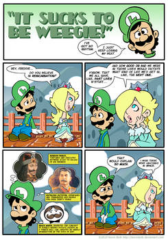 Sucks to be Luigi: Past Lives