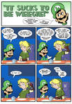 Sucks to be Luigi: Link's Hair