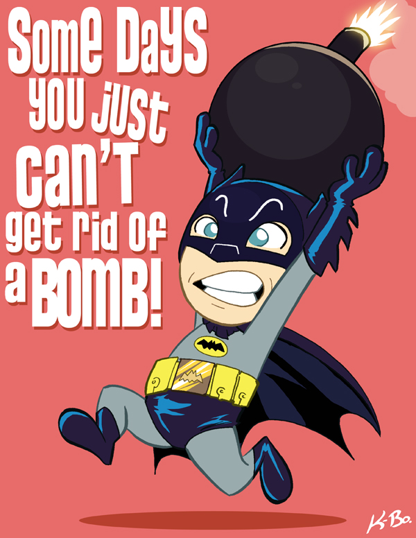 Sixties Cute Batman