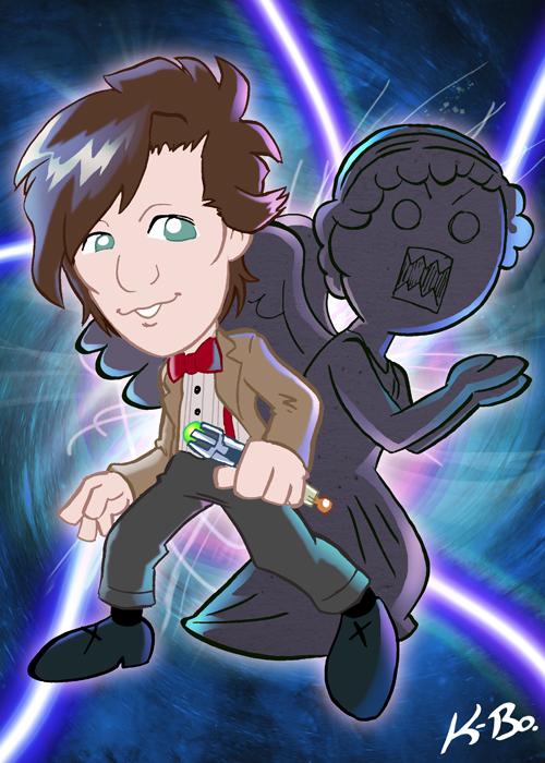 11th Doctor Who Matt Smith by kevinbolk
