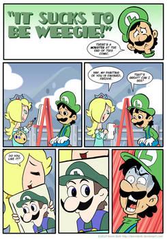 Sucks to be Luigi: Portrait