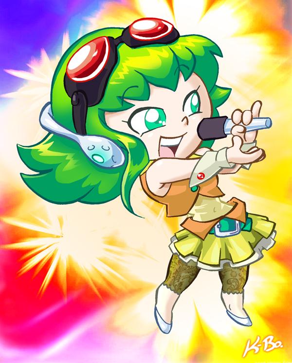 Vocaloid Gumi by kevinbolk