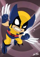 X-Men Wolverine Art Card by kevinbolk