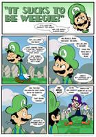 Sucks to be Luigi: Nemesis p.1 by kevinbolk