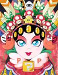 Peking Opera Power-Up Princess