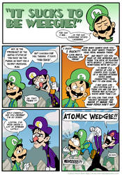 Sucks to be Luigi: Nemesis p.3 by kevinbolk