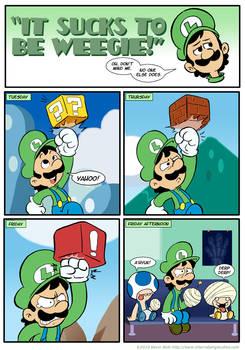 Sucks to be Luigi: Blocks by kevinbolk