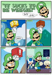 Sucks to be Luigi: Blocks