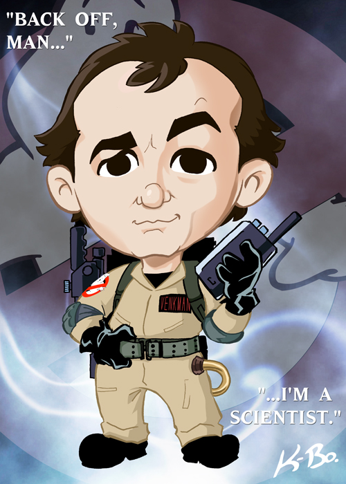 Ghostbusters Peter Venkman by kevinbolk