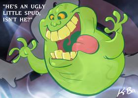 Ghostbusters Slimer by kevinbolk