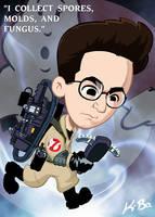 Ghostbusters Egon Spengler by kevinbolk