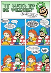 Sucks to be Luigi: Wardrobe by kevinbolk