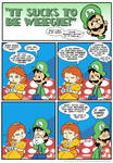 Sucks to be Luigi: Wardrobe