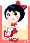UTZ Potato Chip Girl