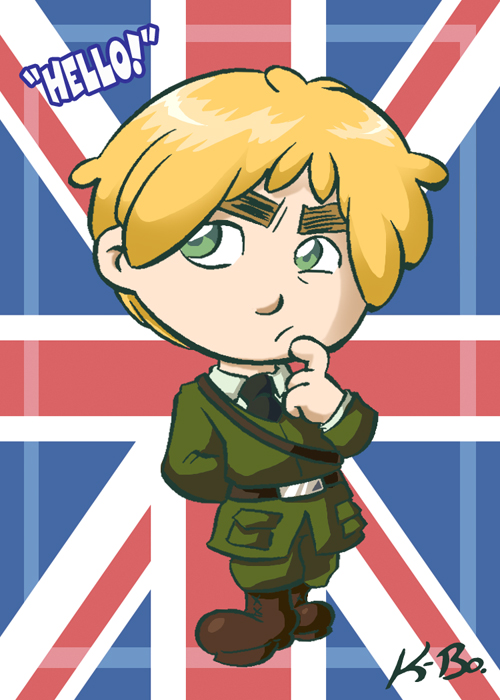 Hetalia England Art Card by kevinbolk