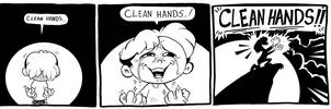 CLEAN HANDS by kevinbolk