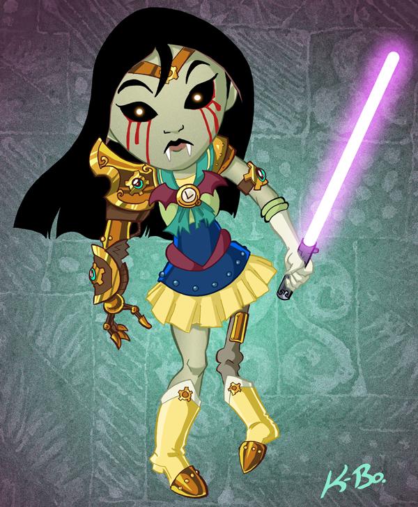 A Bold, New Disney Princess 2 by kevinbolk