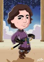 Prince Humperdinck by kevinbolk