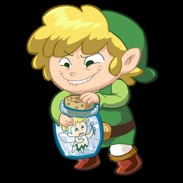 Zelda Collab - Fairy Bottle by kevinbolk