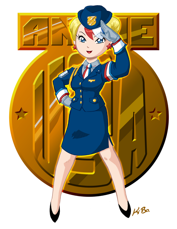 Anime USA Mascot 2011 by kevinbolk