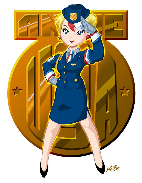 Anime USA Mascot 2011 by kevinbolk
