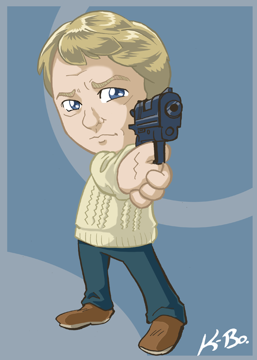 BBC Sherlock John Watson Card by kevinbolk