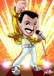 Queen Freddie Mercury Art Card