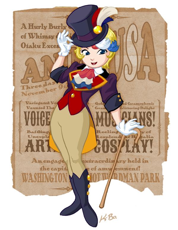 Anime USA Mascot 2012 by kevinbolk