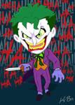 Bat-Villains: Joker Art Card