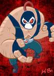 Bat-Villains: Bane Art Card