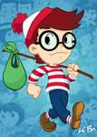 Waldo/Wally by K-Bo.